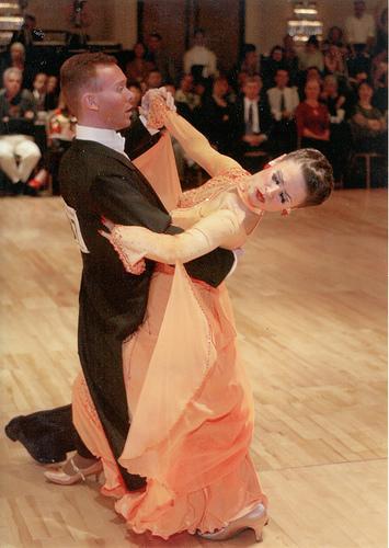 Tango Contracheck on Ballroom Dance Steps