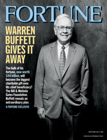 Warren Buffett on Fortune Magazine Cover