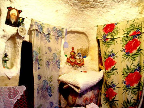 Interior of a Kandovan home