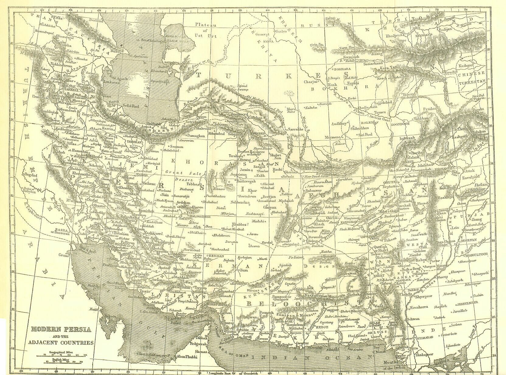 persians map